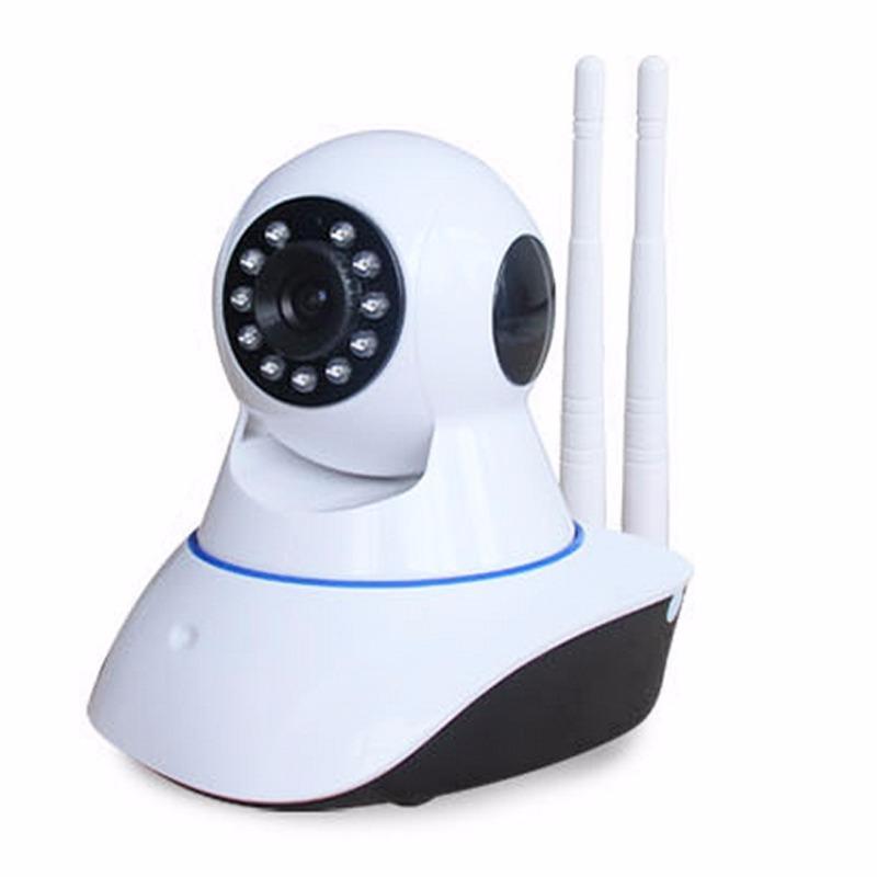 Smart Camera PTZ Version 720P Night Vision Webcam. IP Cam Camcorder 360 Angle Panoramic WIFI Wireless