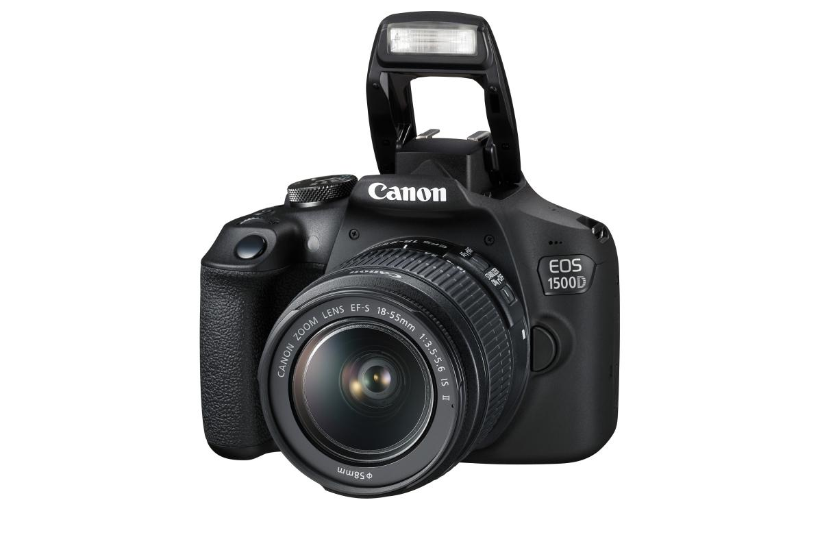 Canon EOS 1500D with EF-S 18-55mm IS II Lens