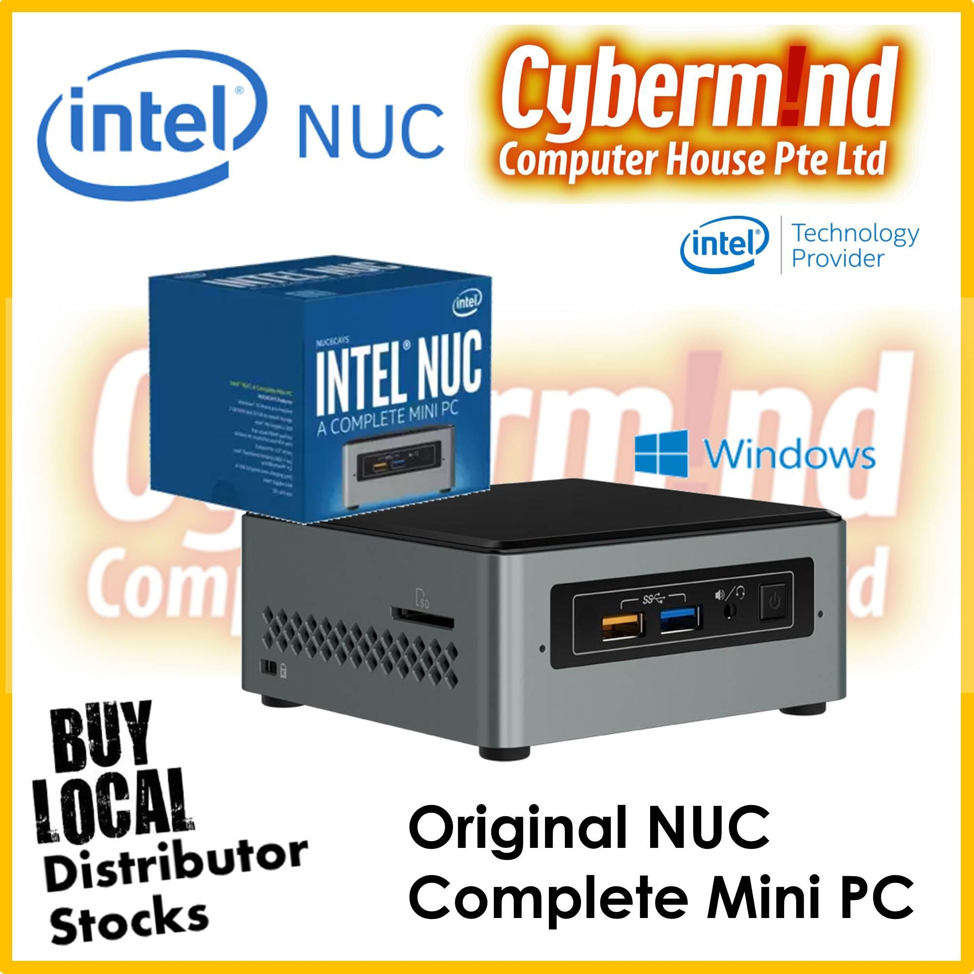 (Intel® Technology Provider) Intel NUC6CAYS NUC Complete Mini PC (Local Singapore Distributor Stocks)