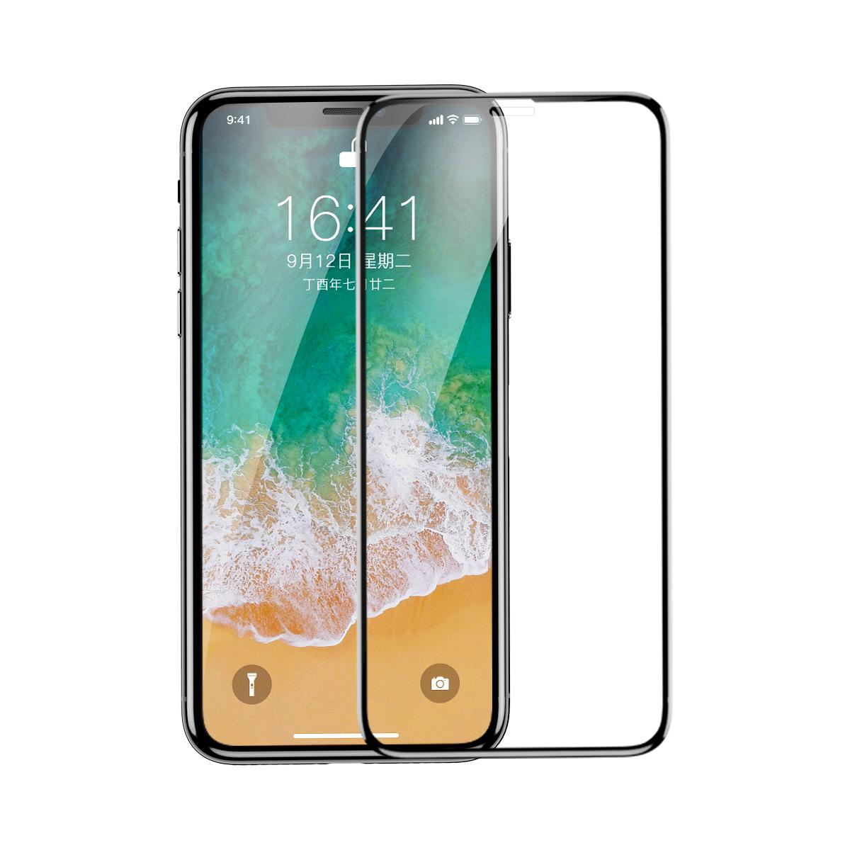 Baseus iPhone X XS XR XS MAX Soft Pet 0.23mm Tempered Glass Screen Protectors