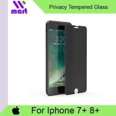 Tempered Glass Screen Protector (Privacy) For Apple Iphone 7 Plus / 8 Plus
