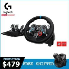 Logitech G29 Driving Force Racing Wheel for PlayStation 4 and PlayStation 3 (Free – Logitech Driving Force Shifter) #Comex2018Promo