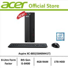 Acer Aspire XC-885(i5840M41T) Mini-Desktop