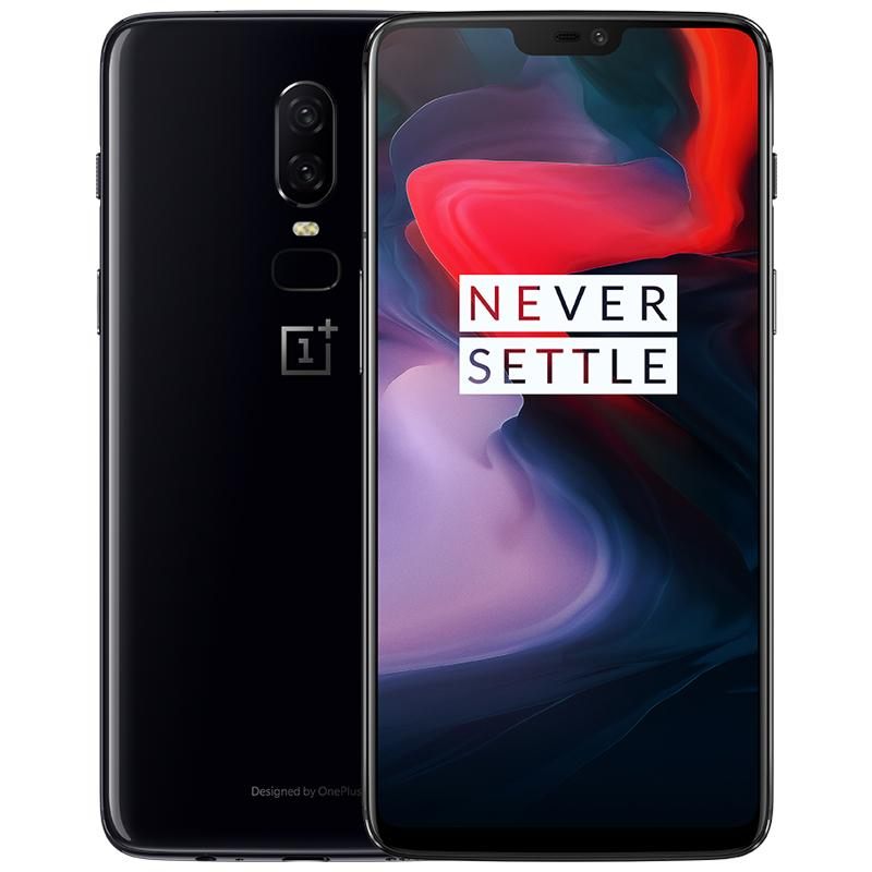 OnePlus 6 A6003 6+64GB/8+128GB/8+256GB Mirror Black / Midnight Black / Silk White -SG Brand Official New Local Set