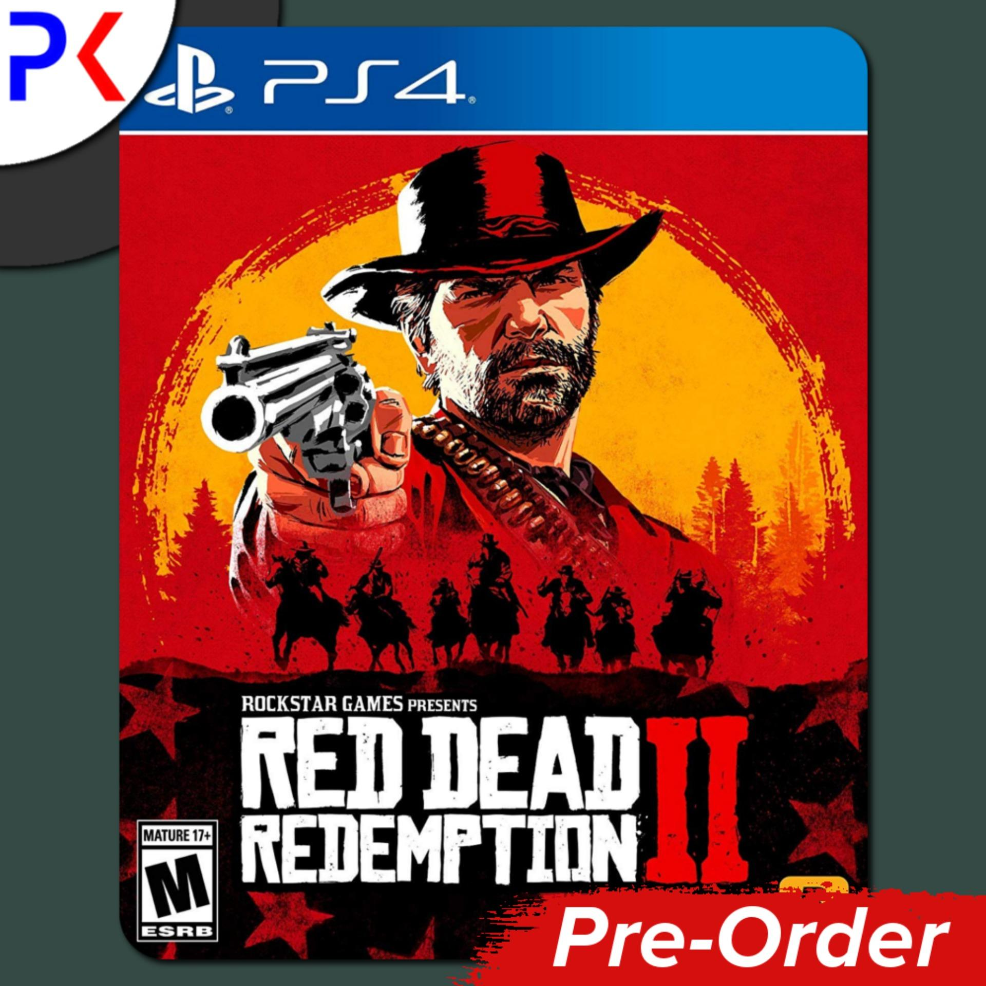 [Pre-Order] PS4 Red Dead Redemption 2 (Ships Earliest 26 October)