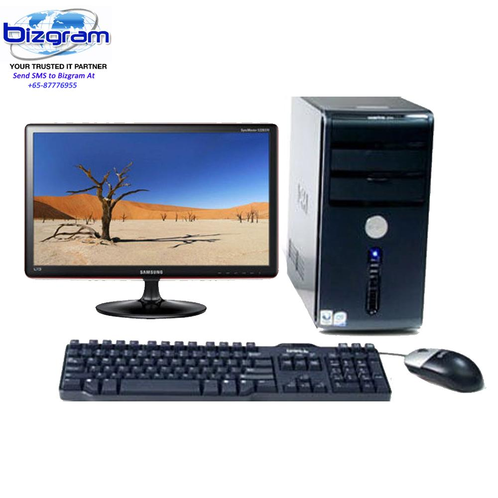 Small Office Home PC, Intel P-Dual Core G4560 3.5G, Biostar H110 Intel Chip Motherboard, 1TB HDD, Windows 10 With 3...