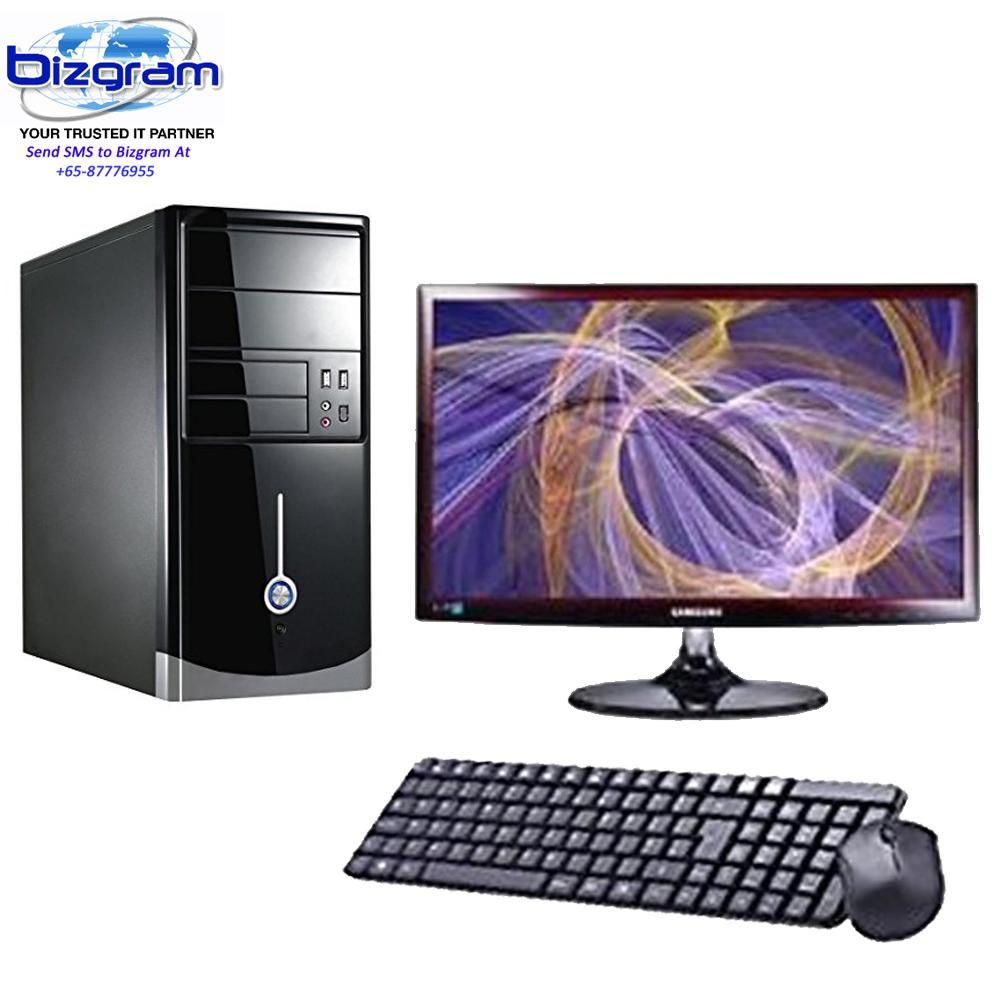Bizgram AMD Ryzen 1700 PC, Ryzen 1700, MSI-B350 Motherboard, 8GB DDR4 RAM, 2TB HDD, AMD 1GB Graphic PCIE 16x, Free USB Keyboard Mouse Antivirus, 24inch Monitor, 3 Years Warranty