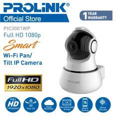 (STARBUY!) PROLiNK® PIC3001WP wireless Full HD 1080P Smart Wi-Fi Pan/Tilt IP Camera (Pan 350° /Tilt 120°) Mobile viewing!!