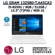 LG GRAM 13Z980-T.AA5CA3 I5-8250U / 8GB / 512GB SSD / 13.3″ TOUCH FHD IPS / WINDOW 10