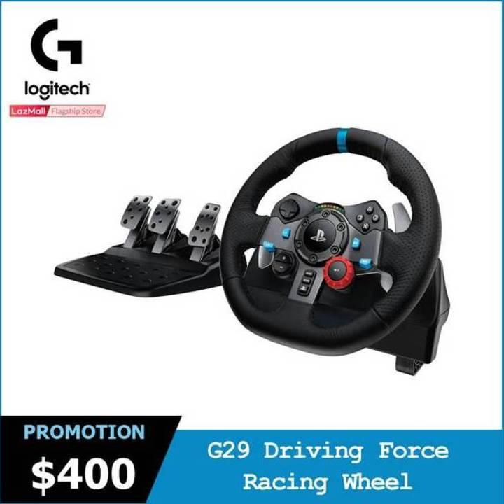 Logitech G29 Driving Force Racing Wheel for PlayStation 4 and PlayStation 3