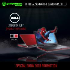 DELL 7567 inspiron 15 7000 Gaming Laptop (RED)- i7-7700HQ,GTX1050TI 4GB,WIN10 *OCT PROMO*