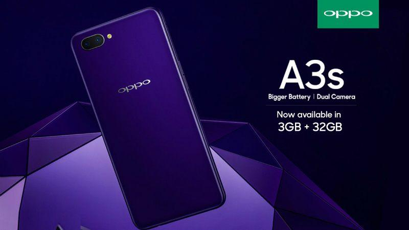 ** PROMOTION ** Oppo A3S 3GB / 32GB 2 Year Local SG Warranty