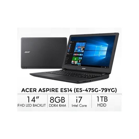 [BrandNew] Acer E5/i7/8GB/1TB/4GB graphic