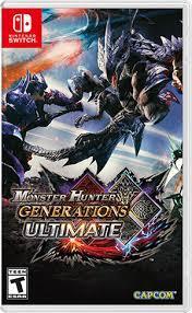 Nintendo Switch Monster Hunter Generation Ultimate