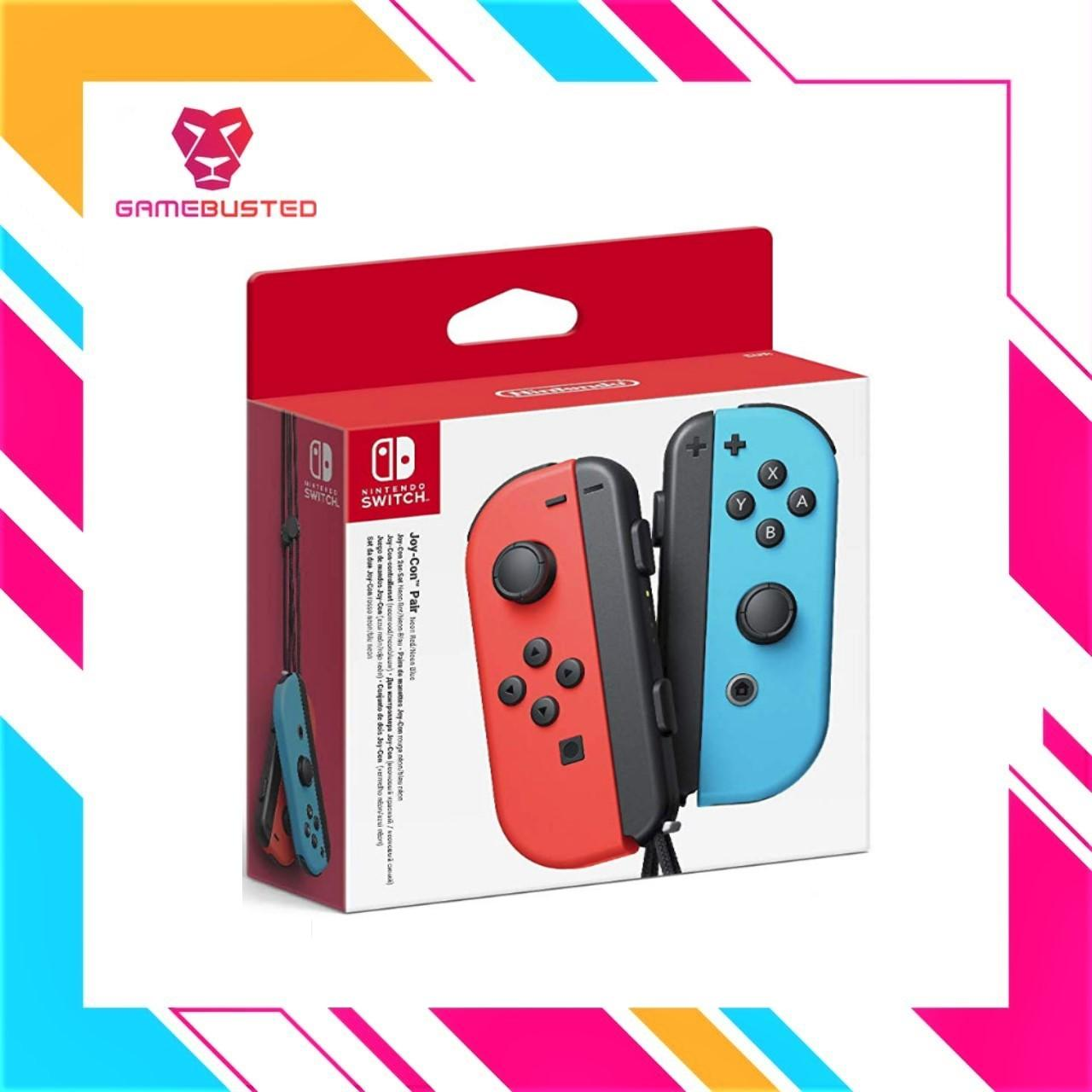 Nintendo Switch Joy-Con Duo Pack Left+Right (NEONRED/BLUE)