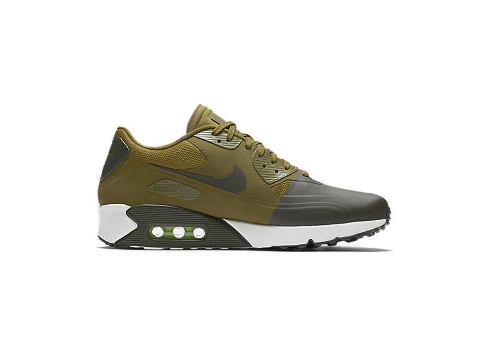 Nike Air Max 90 Ultra 2.0 Flyknit Shoes Cargo Khaki Mens 875943 300