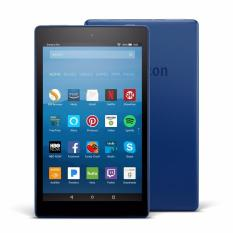 Amazon Fire HD 8 Tablet with Alexa, 8″ HD Display, 16 GB, Blue