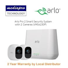 Arlo Pro 2 Smart Security System with 2 Cameras ( VMS4230P ) – Warranty by Local Distributor