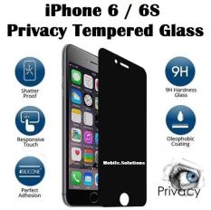 iPhone 6 / 6S Tempered Glass Screen Protector (Privacy 180 Degree)