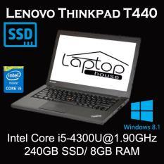 [REFURBISHED] Lenovo Thinkpad T440 with SSD (Intel Core i5-4300/ 8GB RAM / 240GB SSD)