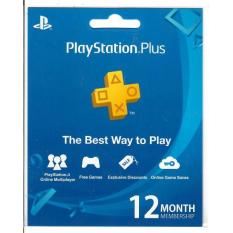 Playstation Plus 12-Month Membership (Singapore)