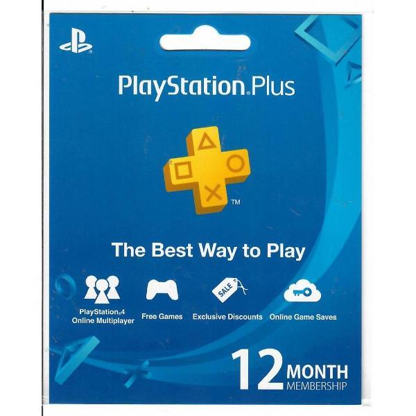 Playstation Plus 12-Month Membership (Singapore)