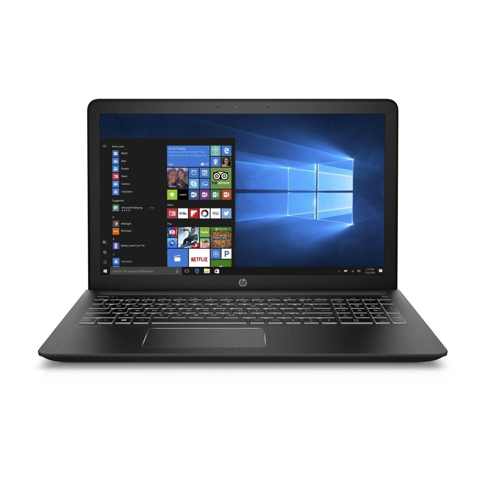 HP 15-CB092TX PAV POWER 15-CB092TX (2GD89PA) 15.6 IN INTEL CORE I7-7700HQ 8GB 1TB + 128GB SSD WIN 10