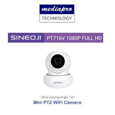 Sineoji PT716V Mini Wide Angle 120° Full HD 1080p WiFi Camera with 2-way Audio