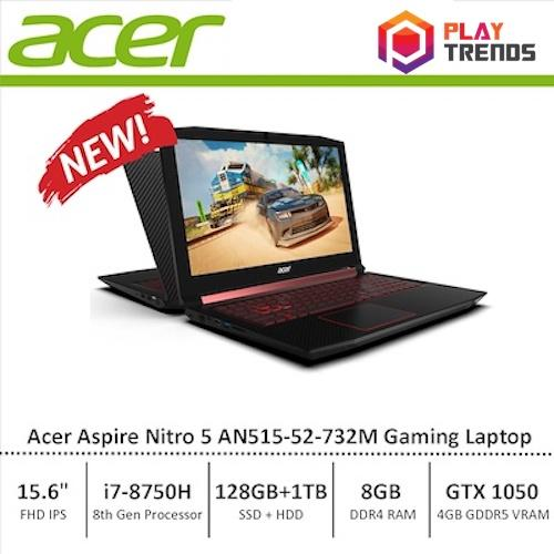 NDP Promo!!! Acer Aspire Nitro 5 (AN515-52-732M) Gaming Laptop – 8th Generation i7 Processor with GTX 1050