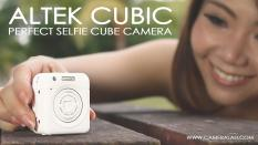 Altek Cubic Smart Mini Wireless Selfie Cube Camera – Gold