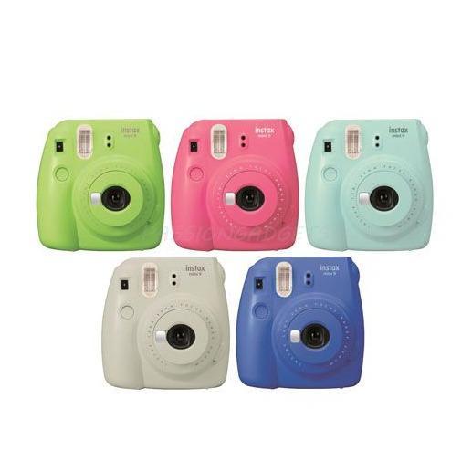 Instax Mini 9 Camera (Free Album+Sticker+Clip+Holder)