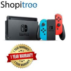 Nintendo Switch Neon Console + 1 Year Local Warranty [Best Seller]