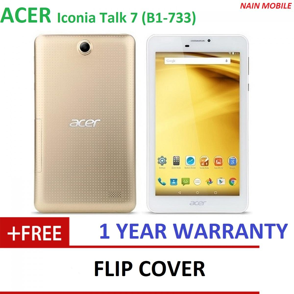 Acer Iconia Talk 7 B1-733 16GB WiFi + 3G with Phone Function Tablet ( 1 YEAR WARRANTY)