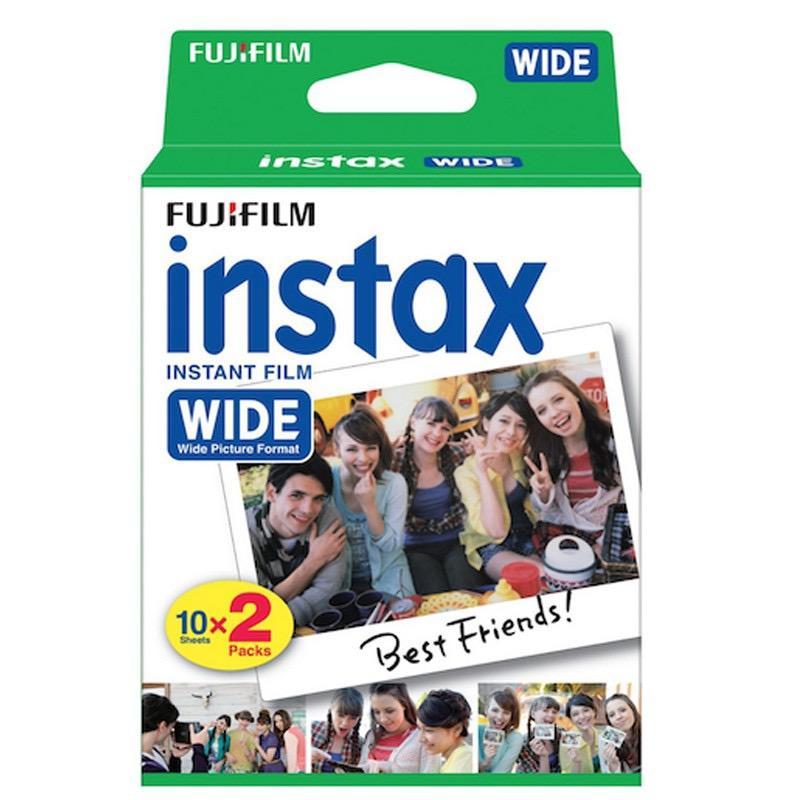 1 x Fujifilm Instax Wide Twin Pack Film [ 20 sheet ]
