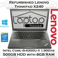 (REFURBISHED) Lenovo ThinkPad X240 / i5-4th Gen/ 500GB HDD / 8GB RAM