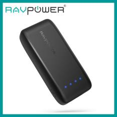RAVPOWER 6700mAh Pocket-Size Power Bank (Black) [RP-PB060]