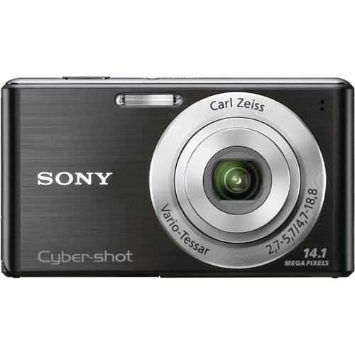 Sony Cyber-shot DSC-W530 Digital Camera (Black)