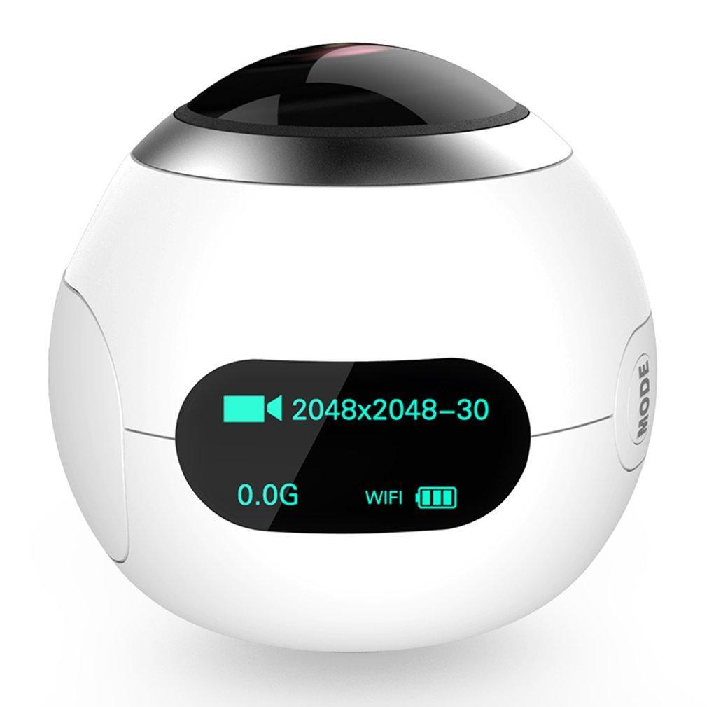 SJCAM SJ360 Panoramic Motion Camera 360 Degree VR Camera Special Sport Camera white