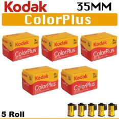 5 Roll Kodak 35mm Color Plus 200 Negative Roll Film 36 Exposure