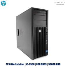 HP Z210 Workstation NVidia GT630 2GB Intel Xeon Quad Core i5-2500 #3.3Ghz 8GB DDR3 500GB SATA HDD Windows 10 Pro One Month Warranty