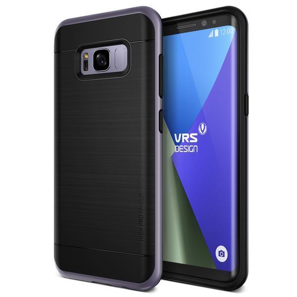 VRS Design High Pro Shield Slim Case for Samsung Galaxy S8+ Plus Orchid Gray