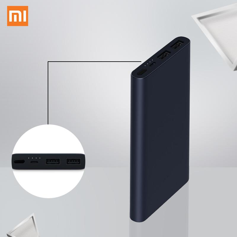Original Mi Power Bank 2 10000mAh Quick Charge Portable Charger External Battery For iPhone Xiaomi