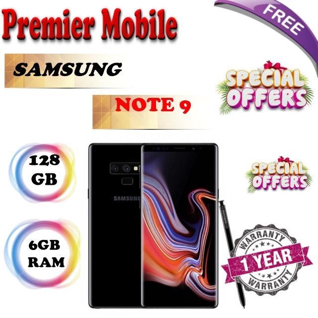 Samsung Note 9 128GB 1 Year Samsung Warranty