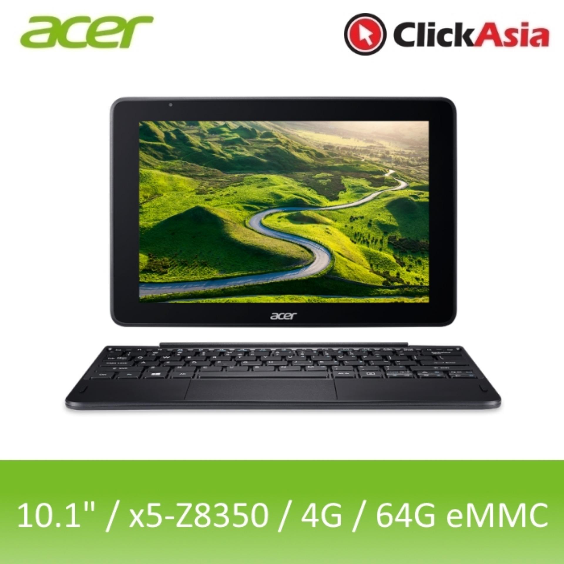 Acer One 10 (S1003-15SL) – 10.1″ TouchScreen/Atom x5-Z8350/4GB RAM/64GB eMMC/W10 (Black)