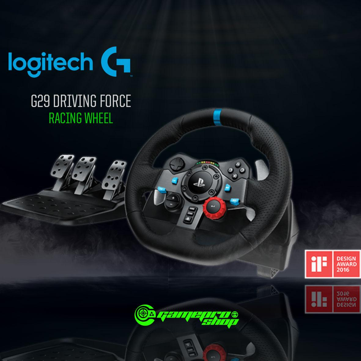 Logitech G29 Driving Force Racing Wheel *10.10 PROMO*