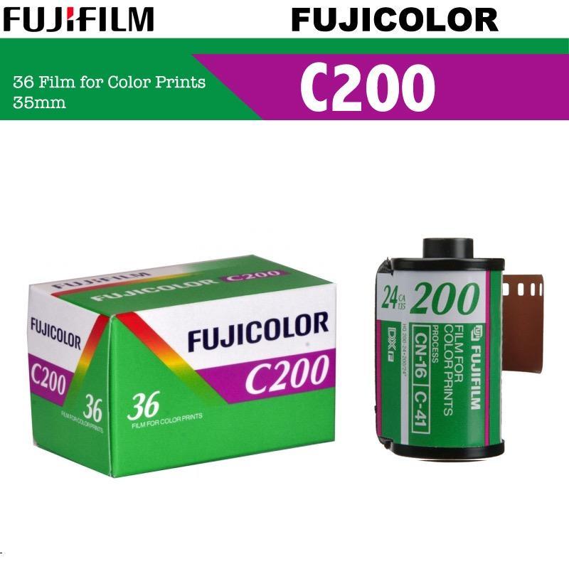 1 Roll Fujifilm Fujicolor C200 Color Negative 35mm 135 Roll Film ( 36 Exposures )