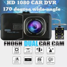 FH06H Dual CAR Camera DVR Full HD 1080P Video Recorder G-sensor Night Vision Blackbox Dash Cam [6 Months Warranty / After Sales Svc in Singapore]