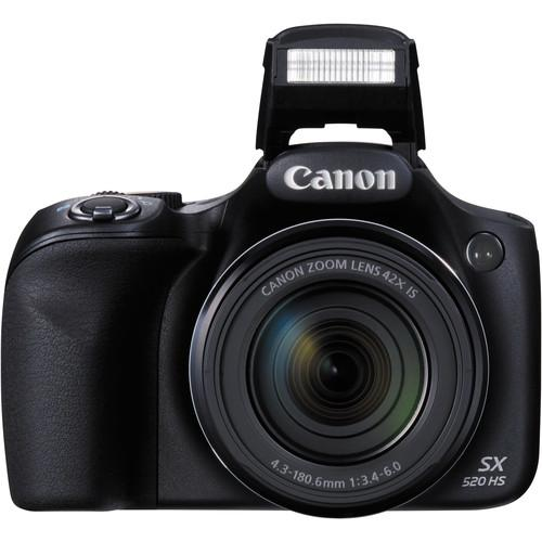 CANON POWERSHOT SX520 HS DIGITAL CAMERA(BLACK)