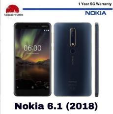 Nokia 6 (2018) 64GB/4GB LTE Dual SIM 1 Year Nokia Singapore Warranty