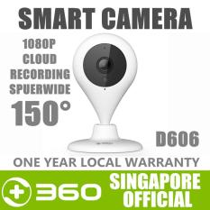360 D606 Wireless IP Camera CCTV Home WiIFI Security Camera 1080P 150° 7M Night Vision Baby Monitor